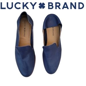 LUCKY BRAND leather Cahill loafers